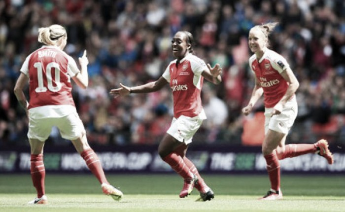 Arsenal Ladies 1-0 Chelsea Ladies: Carter the star as Losa guides Arsenal to FA Cup victory