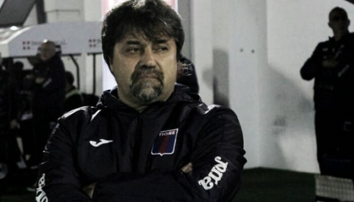 "Caruso Lombardi: ""Fue un partido raro"""