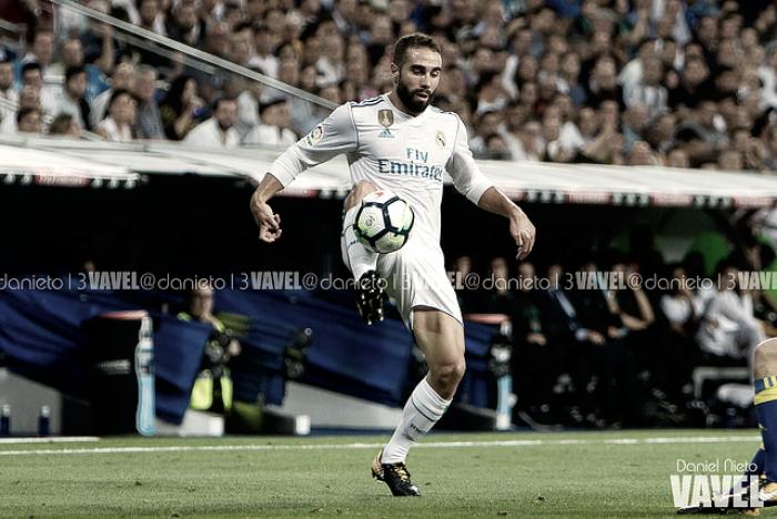 La ausencia de Dani Carvajal, un dolor de cabeza para Zidane