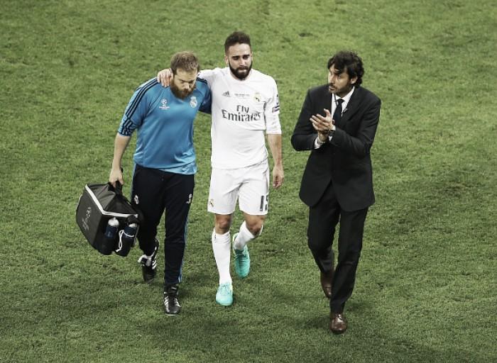 Lateral Carvajal sofre lesão muscular e está fora da Eurocopa; Bellerín será seu substituto