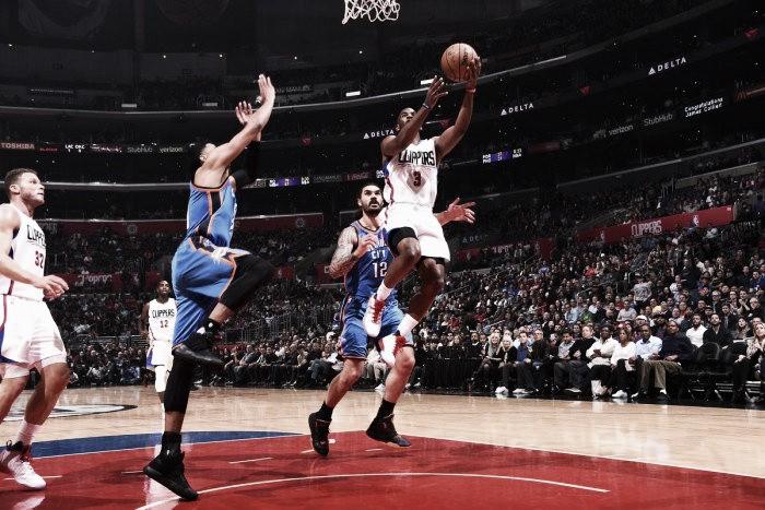Com Westbrook novamente cestinha, Thunder vence e quebra invencibilidade dos Clippers