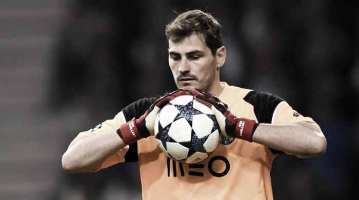 """Porto-Juve, Casillas: """"Spero che al ritorno venga espulso un loro uomo"""""""