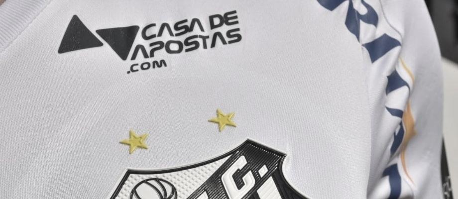 Santos anuncia empresa de apostas como sexto patrocínio para a temporada