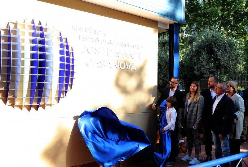 El Espanyol inaugura la residencia Josep Manel Casanova