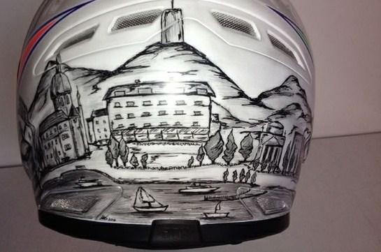Quando il casco diventa arte