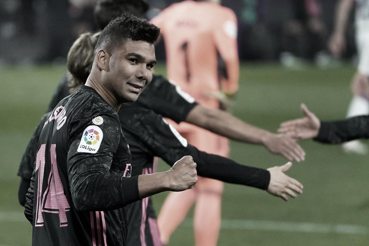 Com gol de Casemiro, Real Madrid supera Valladolid fora de casa
