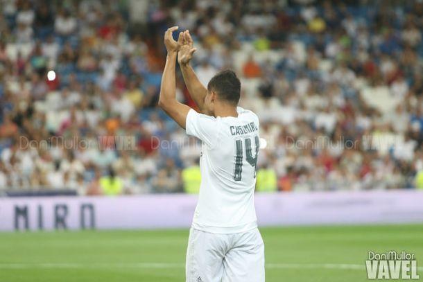 Casemiro renueva con el Real Madrid hasta 2021