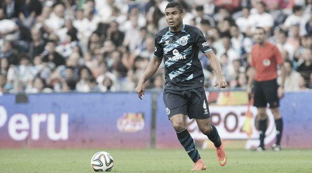 FC Porto: Casemiro volta a Madrid no final da época