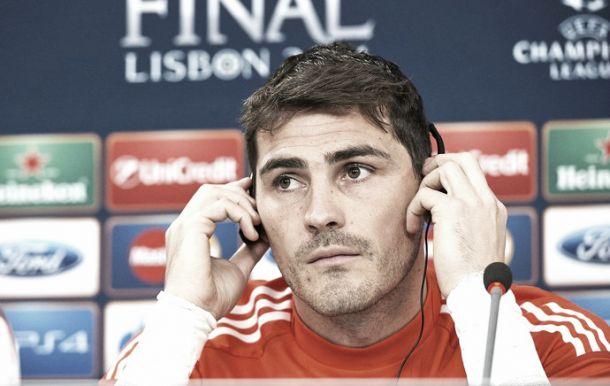 Mais experiente, Casillas celebra terceira final de Champions