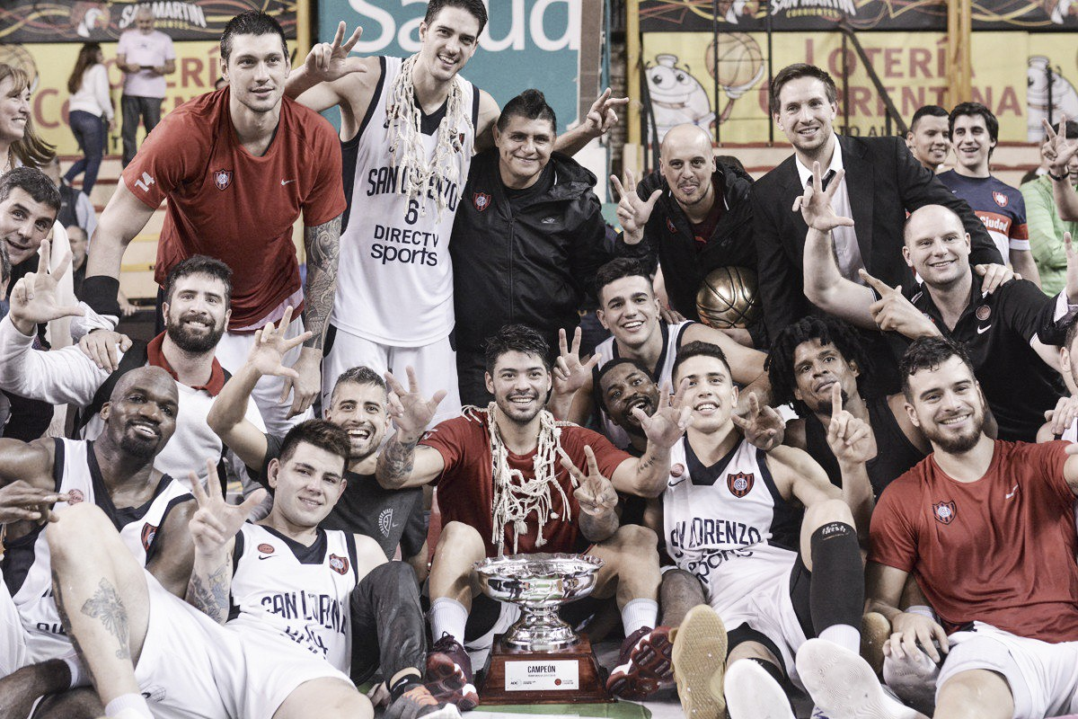 San Lorenzo tricampeón