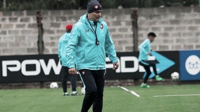 """Diego Aguirre: """"Me voy muy contento de Costa Rica"""""""