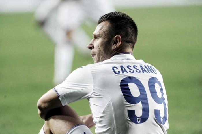 Sampdoria, risolto il contratto di Antonio Cassano: l'annuncio ufficiale nelle prossime ore