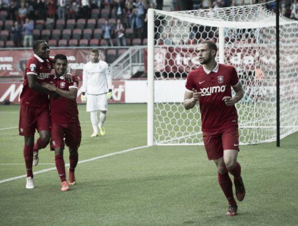 El Twente consigue su primera victoria a costa del GAE