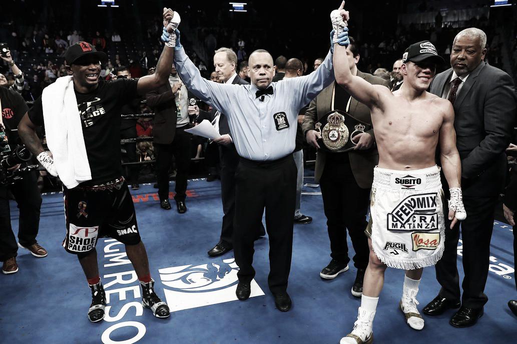 En un resultado polémico, Castaño empató con Lara y retuvo su cinturón