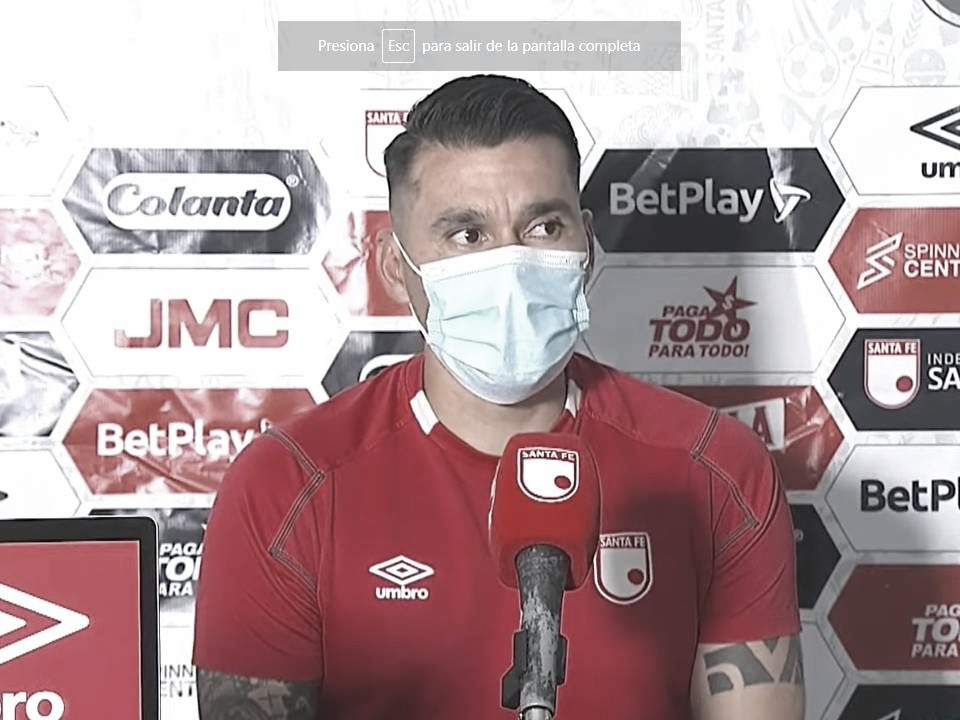 """Leandro Castellanos: """"No es excusa, nosotros debemos jugar donde sea"""""""