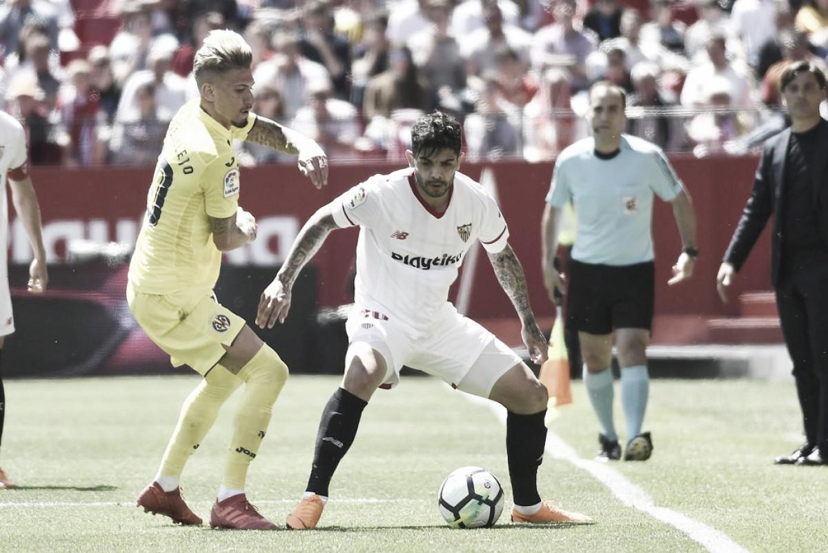 Sevilla e Villarreal empatam em confronto direto por vaga na Europa League