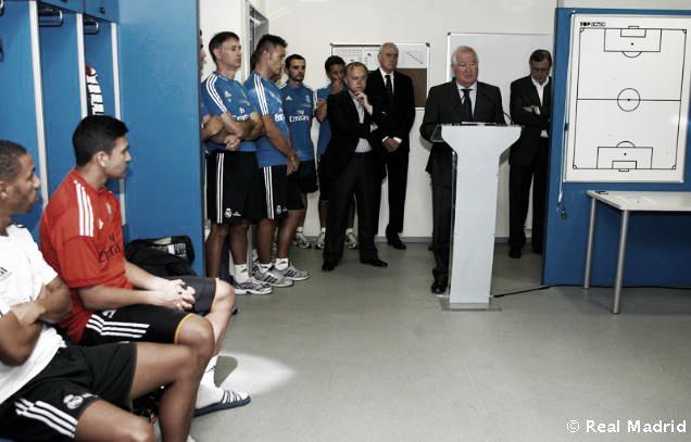 El Real Madrid Castilla vuelve al trabajo