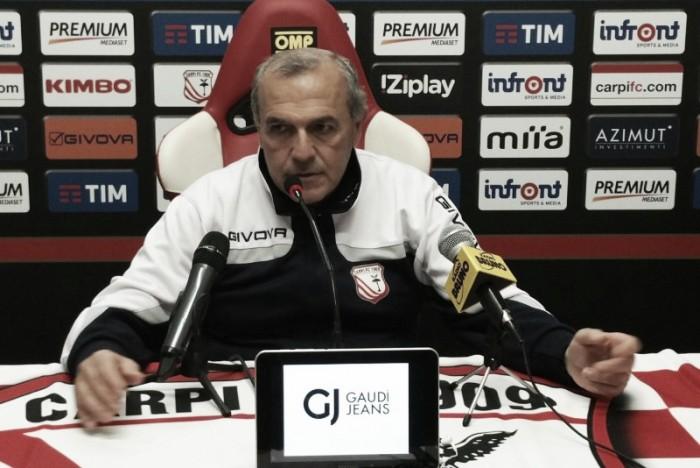 """Carpi, Castori: """"Siamo in buona forma e pronti per giocare come sappiamo"""""""