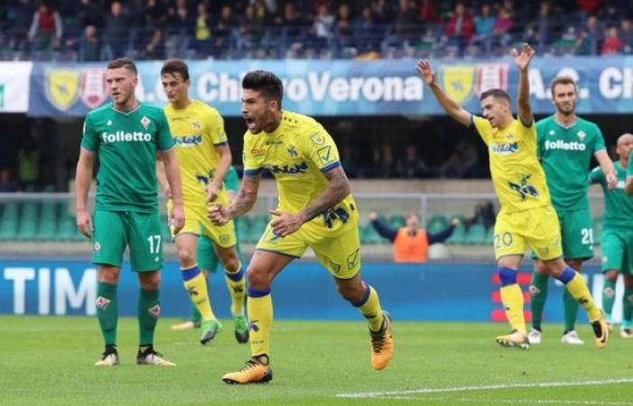 Non basta Simeone. Fiorentina sconfitta a Verona dal Chievo
