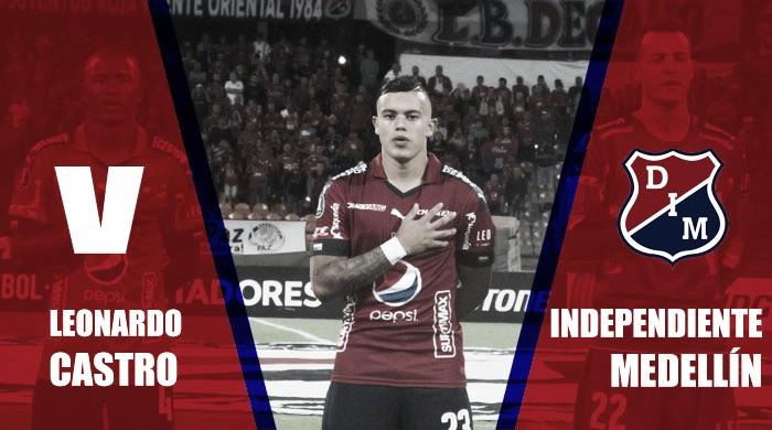 2017-II en azul y rojo: Leonardo Castro