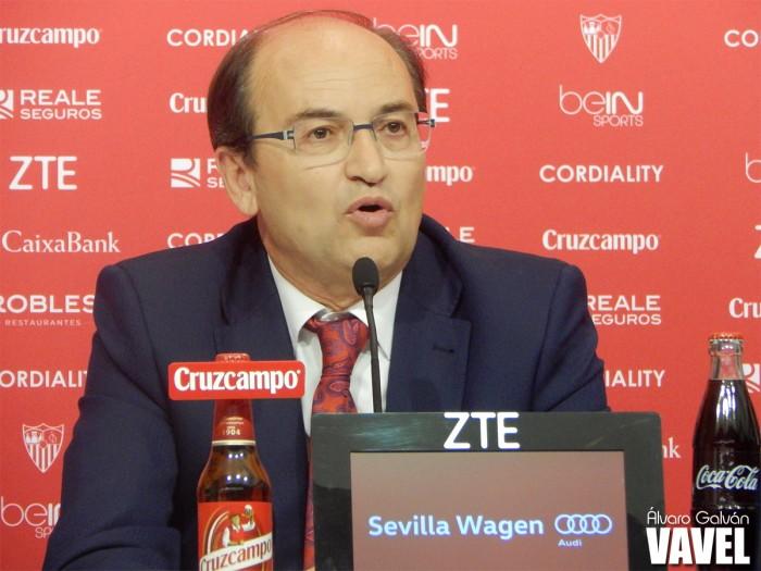 """Castro: """"Hacemos aquello que debemos hacer para hacer un Sevilla grande"""""""