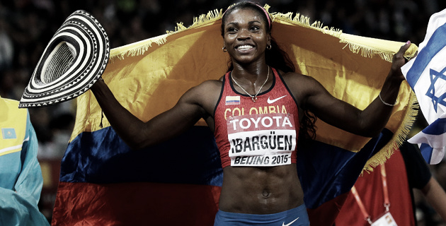 Caterine Ibargüen quiere brillar en el año antes de los Juegos Olímpicos