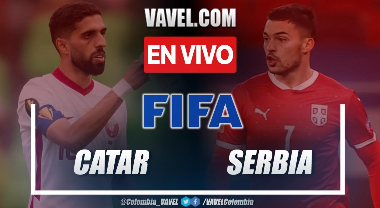 Resumen y goles: Catar 0-4 Serbia partido amistoso internacional