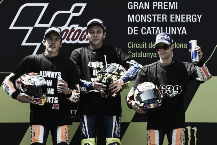 Catalan GP: Podium finishers discuss emotional weekend