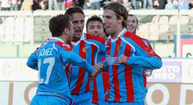 Goleada del Catania en su estreno de pretemporada