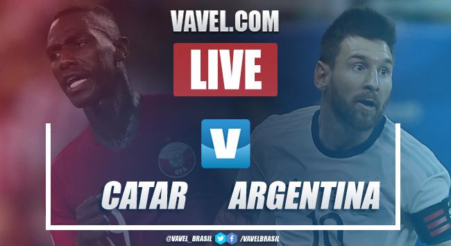 Gols e melhores momentos Catar 0x2 Argentina pela jogo Copa América 2019