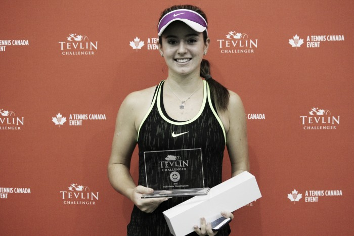 ITF $50K Toronto: Catherine Bellis battles past Jesika Maleckova for biggest-ever title