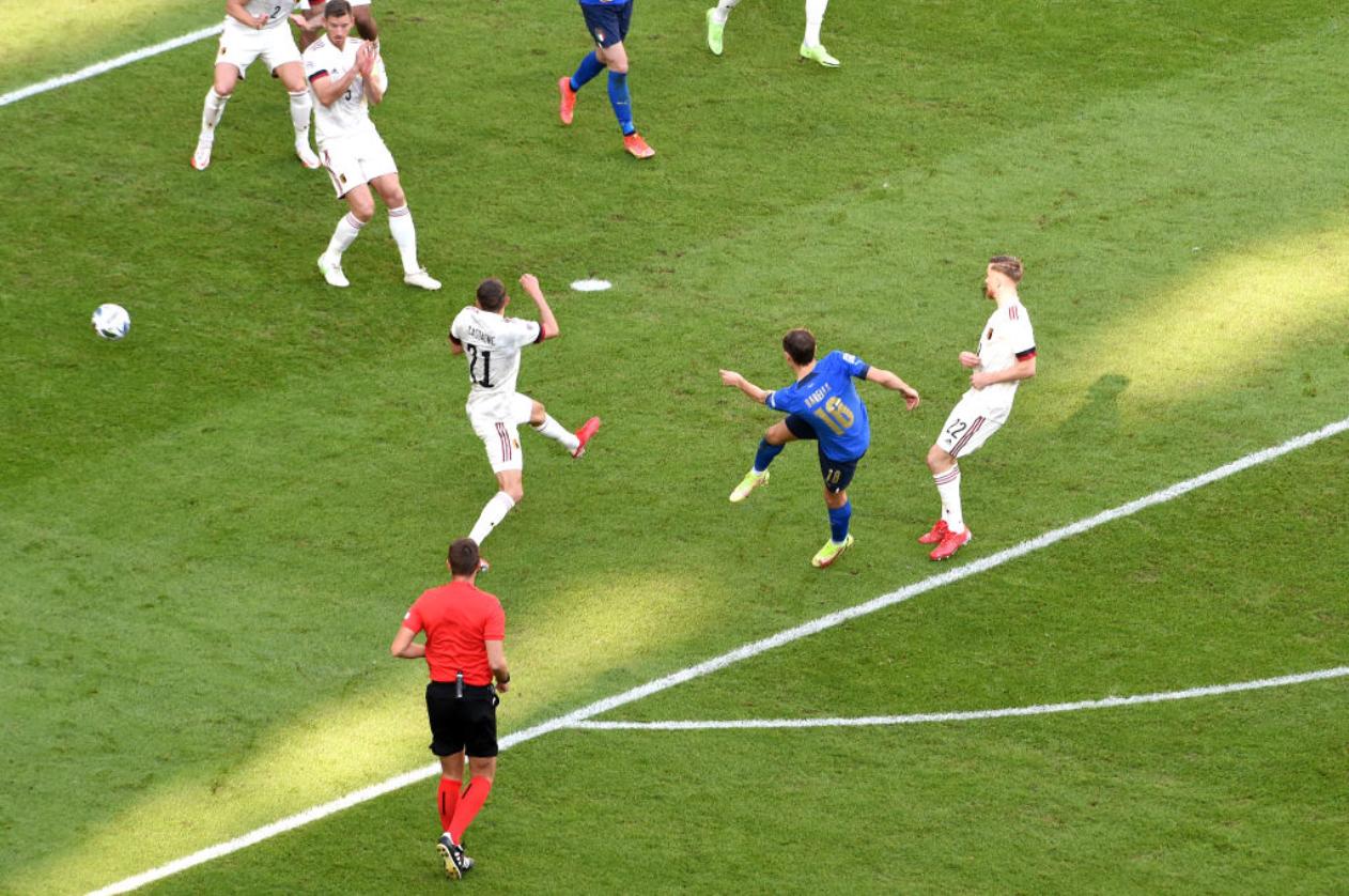Nations League - Italia bella e vincente: Belgio battutto 2-1