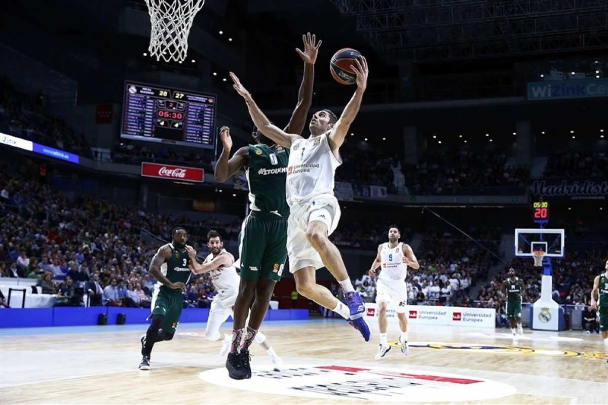 Turkish Airlines Euroleague - Sontuoso Causeur, il Real Madrid stende il Panathinaikos (92-75)
