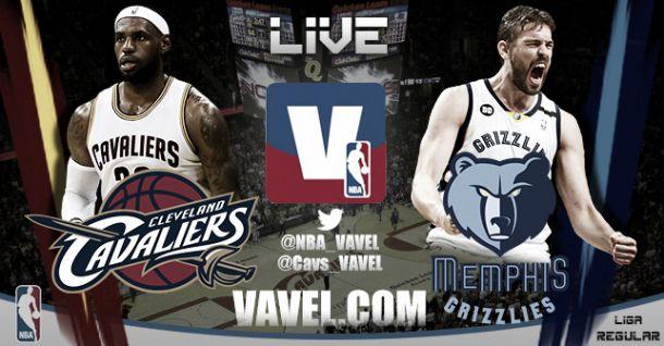 Cleveland Cavaliers vs Memphis Grizzlies en vivo y en directo online