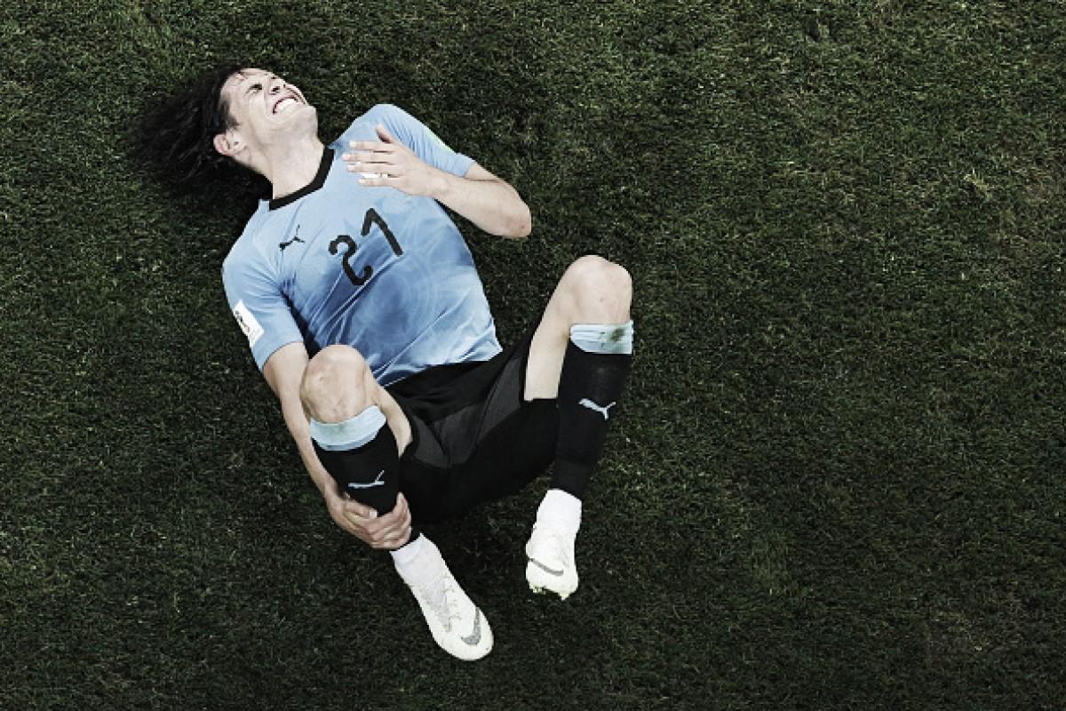 Desfalque à vista: Cavani não treina e deve ser baixa no Uruguai contra França