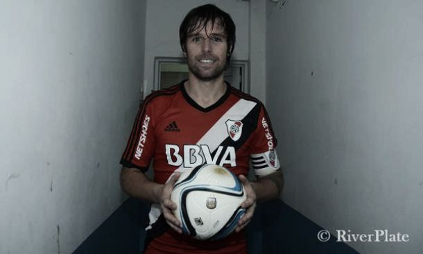 """Cavenaghi: """"No soy Messi, así que cuando se da un partido así, es un lindo recuerdo"""""""