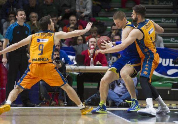 El Valencia Basket deja la eliminatoria en zona rusa.