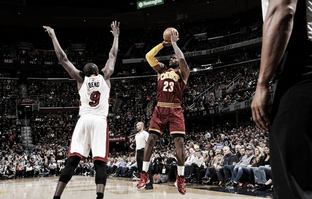 Nba, James e Love abbattono Miami. Tutto facile per i Cavs (102-92)