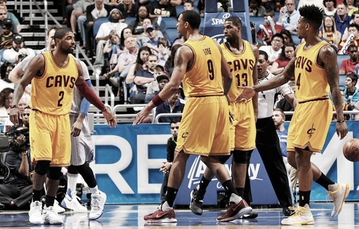 Oladipo la rompió pero Cleveland se llevó la victoria
