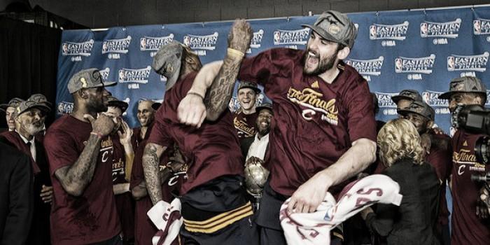 Cleveland Cavaliers a las finales de la NBA
