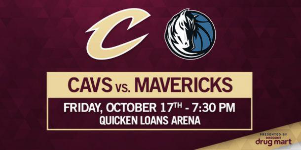 Cleveland Cavaliers vs Dallas Mavericks en vivo y en directo online
