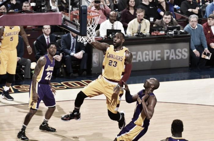 Con otra derrota, Kobe se despide de Cleveland