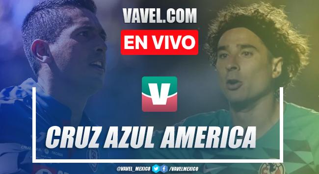 Goles y resumen: Cruz Azul 5-2 América en Liga MX 2019