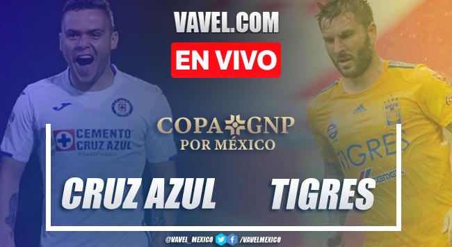 Cruz Azul 1 (4)-(3) 1 Tigres: penales, goles y resumen de Amistoso Copa GNP 2020