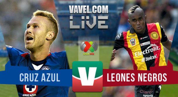 Resultado Cruz Azul - Leones Negros en Liga MX 2015 (0-2)