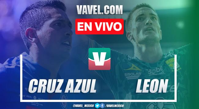 Cruz Azul vs León en vivo cómo ver transmisión TV online en Liga MX 2019 (0-0)