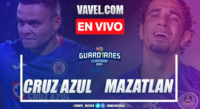 Goles y Resumen del Cruz Azul 1-0 Mazatlán FC en la Jornada 9 del Guard1anes 2021