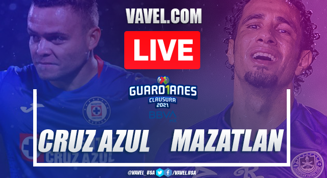 Goals and Highlights of Cruz Azul 1-0 Mazatlan FC on Matchday 9 Guard1anes 2021