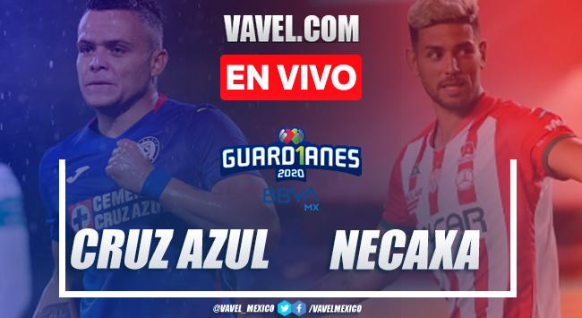 Goles y resumen: Cruz Azul 3-0 Necaxa en Guard1anes 2020