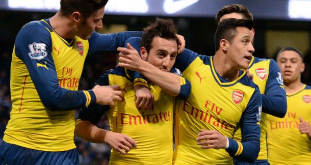 Arsenal triumph in Manchester with convincing all round performance